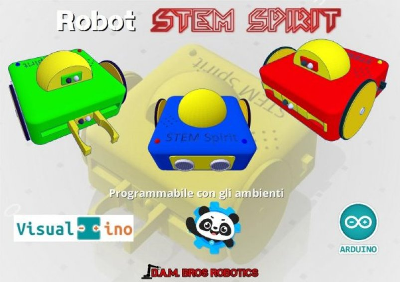Robot STEM Spirit - Un robot con lo spirito STEM
