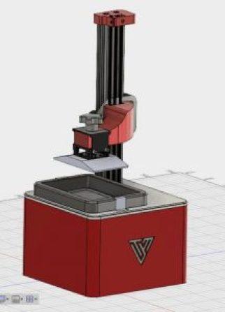 The Tevo Firefly - DLP resin printer