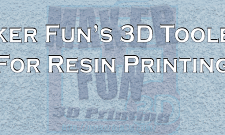 Resin 3D Printer ToolBox – For a cleaner experience