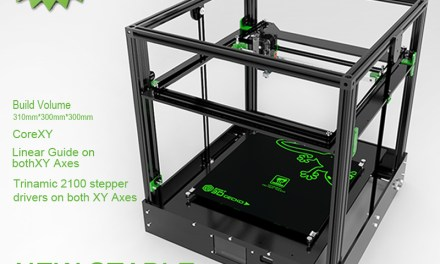 New CoreXY Printer: East 3D Gecko
