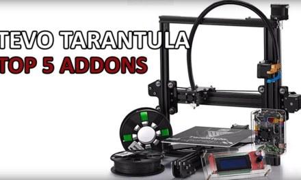 The top upgrades for your Tevo Tarantula according to Rui Raptor