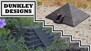 3D Printable Pyramid & Ziggurat Terrain