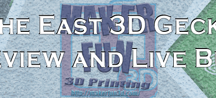 East 3D Gecko Core XY printer Preview