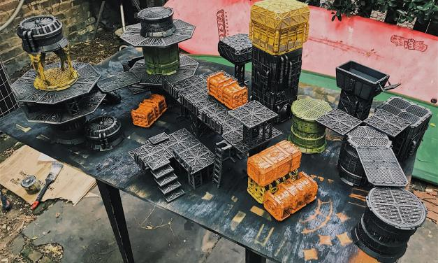 3D Printable Terrain for Necromunda: Underhive