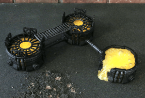 Warlayer 3D Printable Terrain by Andrew Askedall - Chemical Vats