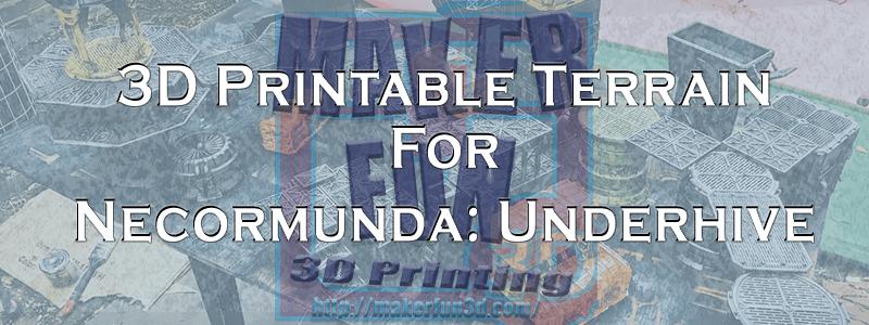 picture about 2d Printable Terrain titled Necromunda Terrain - Underhive » Manufacturer Enjoyment 3D - 3D Printing