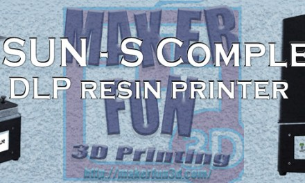 FLSUN – S Complete – A new Resin Based DLP Printer