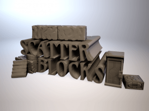 Scatter Blocks by Ill Gotten Games