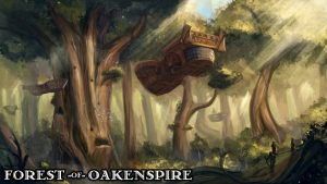 Forest of Oakenspire - 3D Printable Tabletop Models