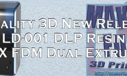 Creality 3D LD-001 & CR-X