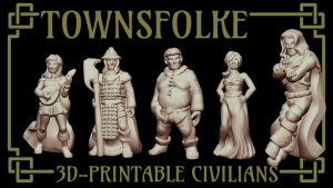 Townsfolke by Ill Gotten Games