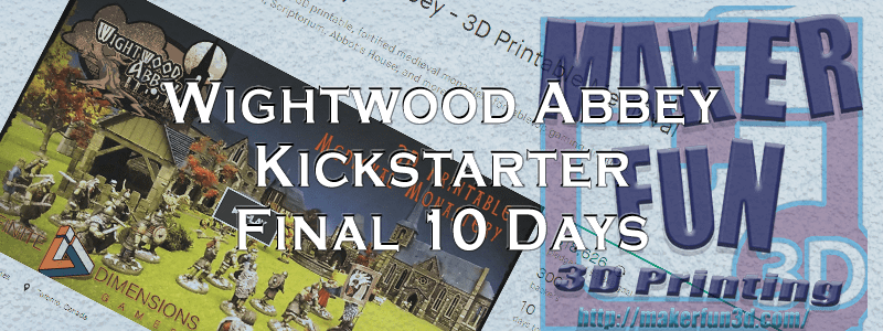 FINAL DAY! The Wightwood Abbey Kickstarter