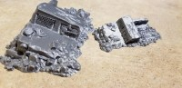 Hayland Terrain - Wastelands 2 KS - Wrecked Truck