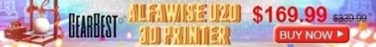 Alfawise U20 3D Printer Deal