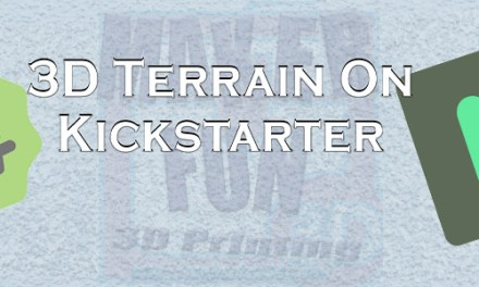 3D PRINTABLE TERRAIN & MINIATURE KICKSTARTERS: November 2019