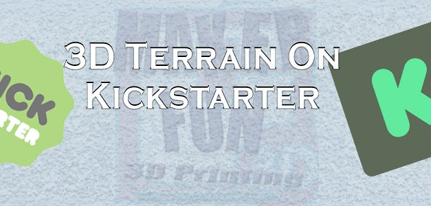 3D PRINTABLE TERRAIN & MINIATURE KICKSTARTERS: April 2020