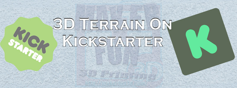 3D PRINTABLE TERRAIN & MINIATURE KICKSTARTERS: September 2019