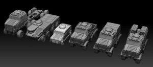 32mm BIG Vehicles - Goliath Land Train