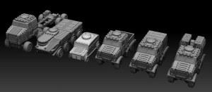 32mm BIG Vehicles - Goliath Land Train