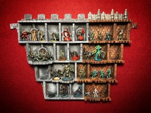 Wallhalla - Modular Miniature Display Shelves