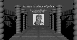 Roman Judea OpenLOCK Wargaming Tiles - 3D Printable STL File
