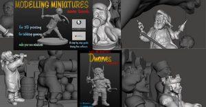Modelling Miniatures - A Beginners Guide Using FREE Software