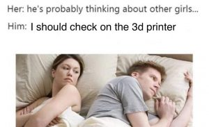Thinking about the printer