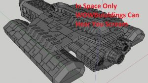 Space Battles with WOW Factor 3D print STL files