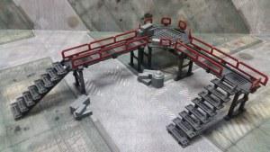 Sci-fi terrain for tabletop games