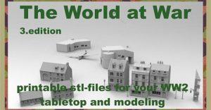 The World at War part III printable terrain