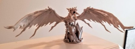 Lost Dragon's Kickstarter printed on the JGAurora A5