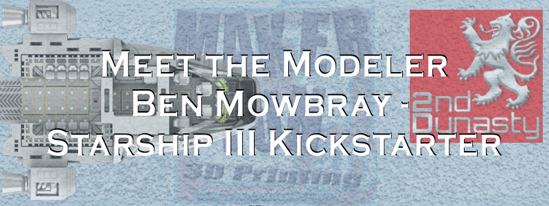 Starship III by 2nd Dynasty – Interview with Ben Mowbray