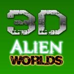 3D Alien Worlds