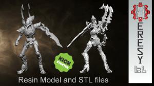 HeresyLab - Chrono Titan resin model and STL files
