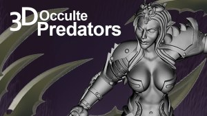 Predators Occulte 3D miniatures for your printer
