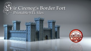 Sir Cireneg's Castle - Border Fort