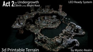 Mystic-Realm's Act2: Undergrowth Birth of the Blight Terrain