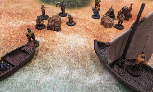 Savage Atoll Going Ashore with Pirates