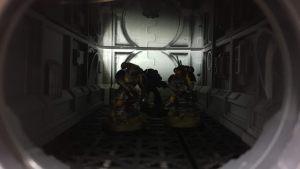 Modular spaceship/sci-fi terrain for 3D-printing OpenLOCK