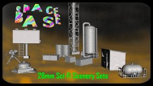 Space Base - 28mm Scenery for your Tabletop Adventures