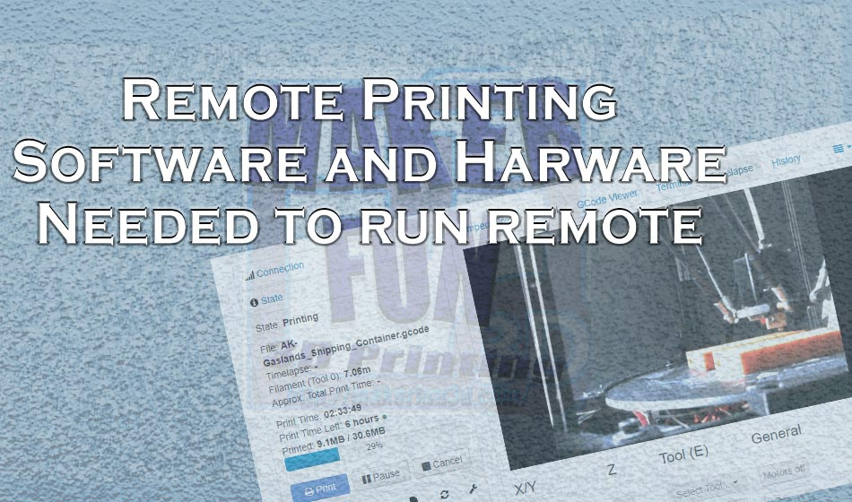 HOW TO: Remote Printing - Run your Printer from anywhere