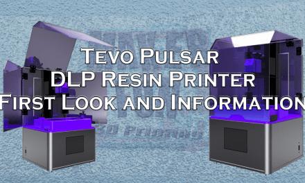 Tevo Pulsar DLP Printer Information