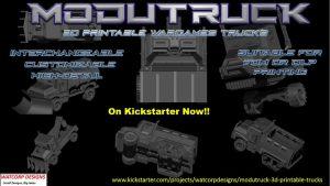Modutruck - 3d Printable trucks