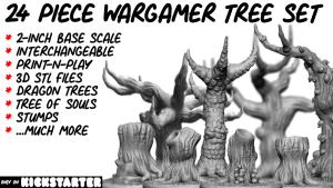 Wargamer Tree Set