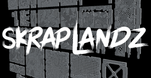 Skrap Landz: 3D Printable Terrain