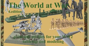 The World at War Figures, Buildings, Accessories printable