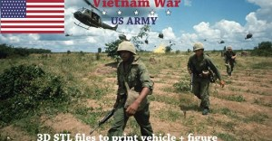 3D Vietnam War - US Army
