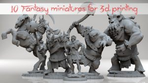 Fantasy miniatures Vol1