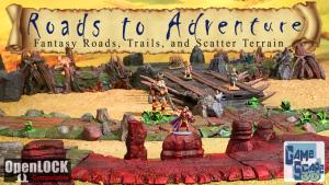 Roads to Adventure: STL Files for Large Primitive 3D Roads