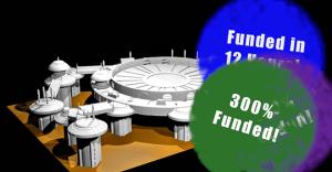 Neo Platformers Printable STLs Miniature Terrain Kickstarter